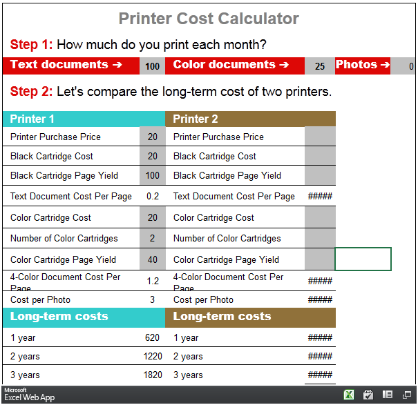 Three Online Calculators You Can Use To Calculate Your Printing