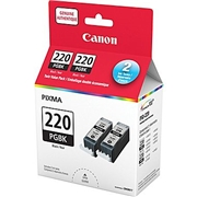 Canon PGI-220 BK 2pk OEM Ink Cartridge