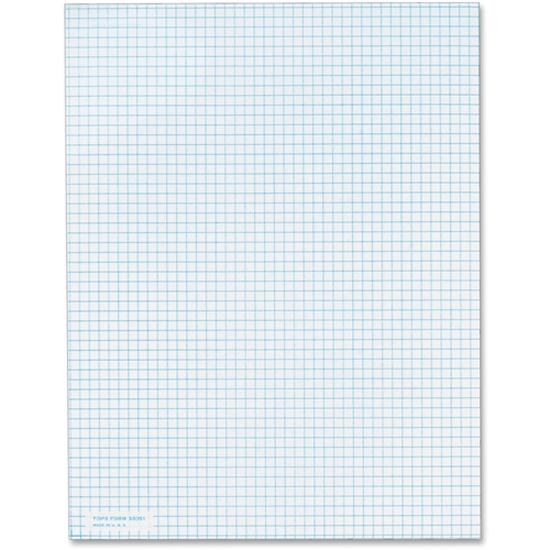 TOPS Products TOPS 5 Square/Inch Quadrille Pads