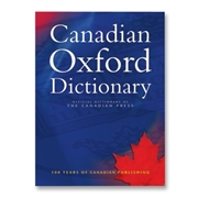 Oxford University Press Canadian Oxford Dictionary Dictionary Printed Book by Katherine Barber - English