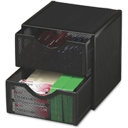 Sanford, L.P. Rolodex Expressions Mesh Cube with Drawer