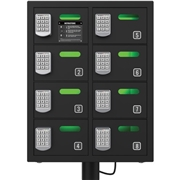 ChargeTech Enterprises LLC ChargeTech 8-bay Cell Phone Charging Locker
