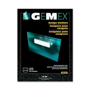 Gemex Name Badge Holder with Magnetic Clip