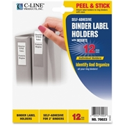 C-Line Products, Inc C-Line Self-Adhesive Binder Label Holders