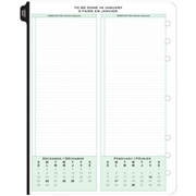 ACCO Brands Corporation Day-Timer 1PPD Folio Planner Refill