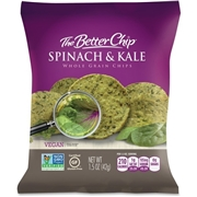 Sugar Foods Corporation The Better Chip Spinach/Kale Chips