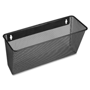 Lorell Black Mesh/Wire Wall Pocket