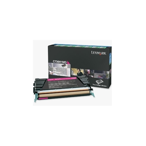 Lexmark OEM C736H1MG Toner Cartridge