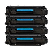 HP Compatible 36A 4pk (CB436A 4pk) Toner Cartridge