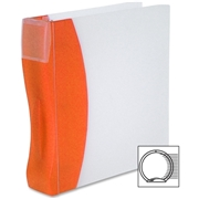 Storex DuraTech Frosted Poly 3-Ring Binders