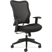 The HON Company Basyx by HON VL702 Mesh High-Back Work Chair