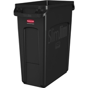 Newell Brands Rubbermaid Commercial Venting Slim Jim Waste Container