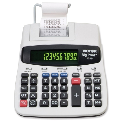 Victor Technology, LLC Victor 1310 Printing Calculator