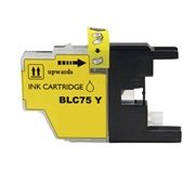 Brother LC75 YW (LC-75 Yellow) compatible Ink Cartridge
