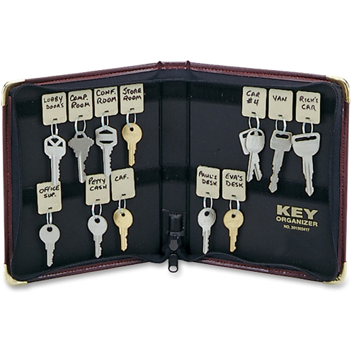 MMF Industries MMF Carrying Case for Key - Burgundy