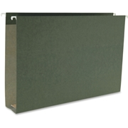 Smead Manufacturing Company Smead 64359 Standard Green Hanging Box Bottom Folders