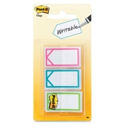 "3M Post-it Assorted Colours 1"" Writable Flag"
