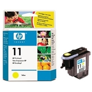 HP #11 Yellow Printhead (C4813A) OEM Ink Cartridge