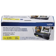 Brother OEM TN-339Y (TN339Y Super High Yield) Toner Cartridge