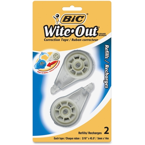 BIC Wite-Out Correction Tape Refill Cartridge