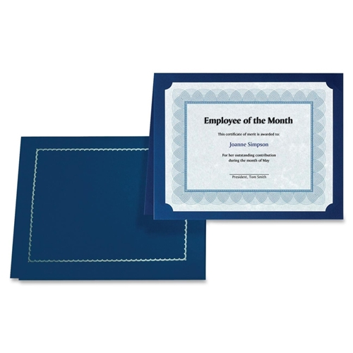 First Base, Inc First Base 83434 Certificate Holder with Gold Folio
