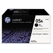 HP OEM 05A Dual Pack (CE505D) Toner Cartridge