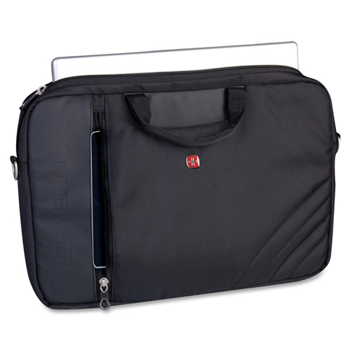 "Holiday Group, Inc Swissgear SWG0102 Carrying Case (Sleeve) for 17.3"" Notebook - Black"
