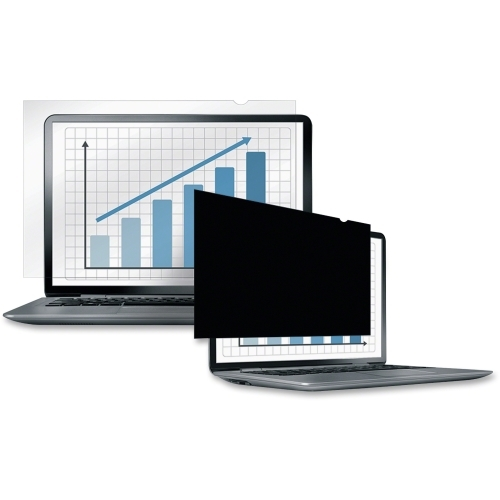 "Fellowes Laptop/Flat Panel Privacy Filter - 24.0"" Wide Black"