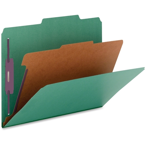 Nature Saver Cleared Top-tab 1-Divider Classification Folder