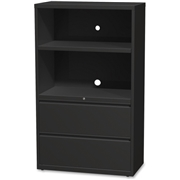 "Lorell 36"" Lateral Hanging File Drawers Combo Unit"