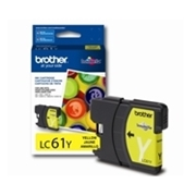 Brother LC61 Y (LC-61 Y) OEM Ink Cartridge