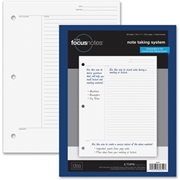 "TOPS Products TOPS FocusNotes Filler Paper, 8-1/2"" x 11"", 3-Hole Punched"