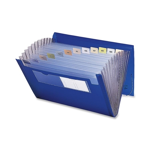 Smead Manufacturing Company Smead 70876 Blue Poly Ultracolor Expanding Files