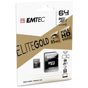 Emtec International EMTEC Gold+ 64 GB Class 10/UHS-I (U1) microSDXC