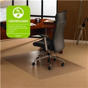 Floortex Cleartex Ultimat Chair Mat for Low to Medium-pile Carpets