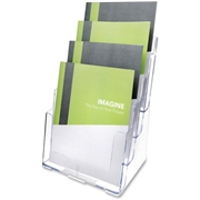 Deflect-o Multi-Compartment Literature Rack