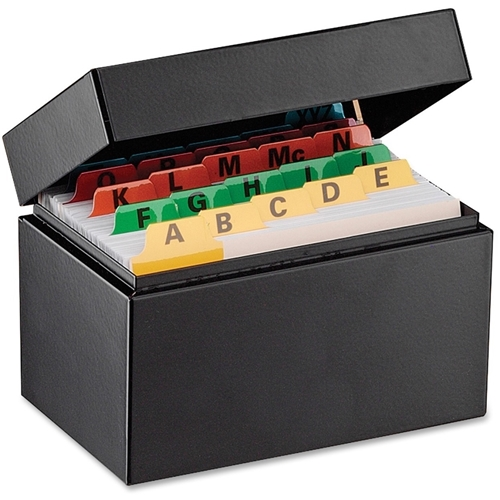 MMF Industries Steelmaster Card File Box