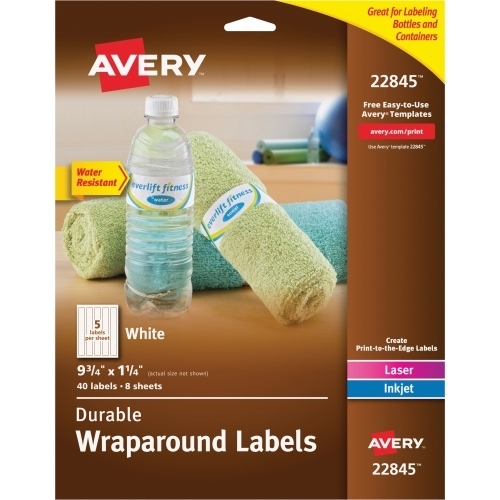 Avery Wraparound Durable Labels