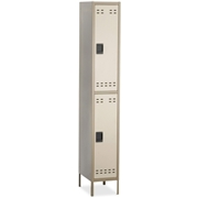 Safco Products Safco Double-Tier Two-tone Locker with legs