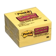 3M Post-it Super Sticky Ruled Adhesive Notes