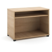 The HON Company Basyx by HON Manage Series Wheat Office Furniture Collection