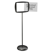 Bi-silque S.A MasterVision Interchangeable Floor Pedestal Sign