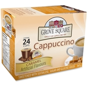 Grove Square 1-Cup Caramel Cappuccino K-Cup