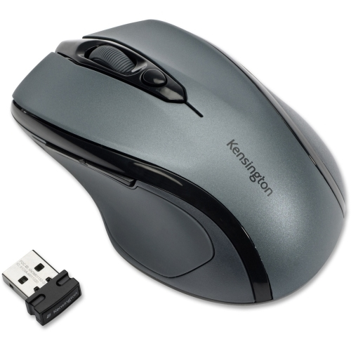 Kensington Computer Products Group Kensington Pro Fit Mid-Size Wireless Mouse Graphite Gray