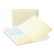 Smead 24116 Manila End Tab Pocket Folder with Antimicrobial Product Protection