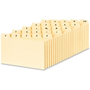 Oxford Esselte PlainTab Index Card File Guide