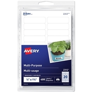 Avery® Removable Rectangular Labels