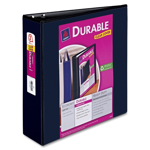 Avery Durable Reference View Ring Binder