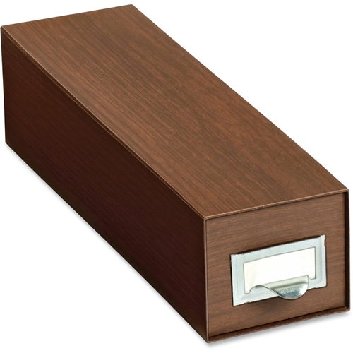 TOPS Products Globe-Weis Drawer Style Card Index Box