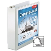 Cardinal ExpressLoad ClearVue Lock D-Ring Binder